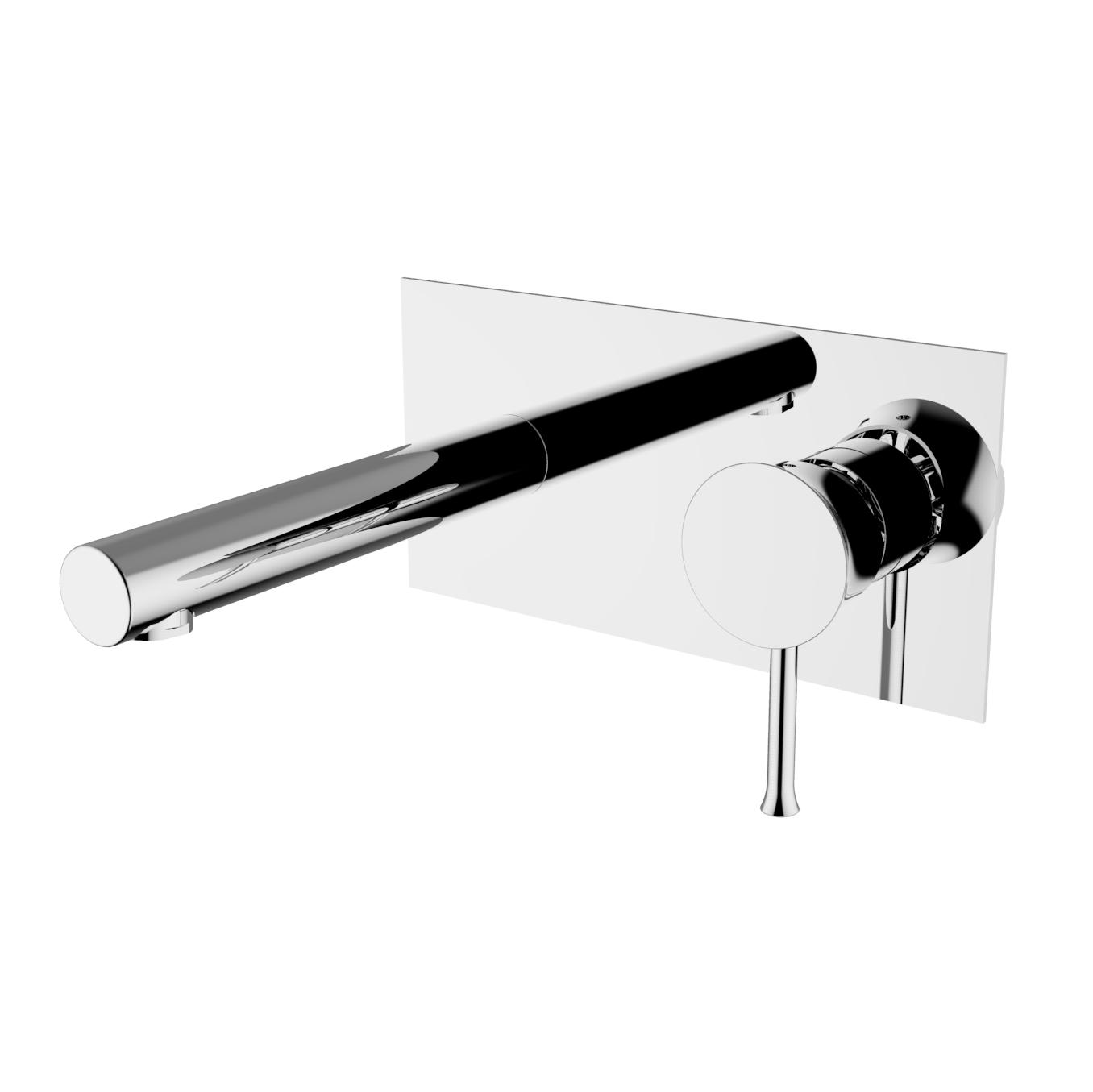 HD Image CHECKMATE Wall mounted basin mixer