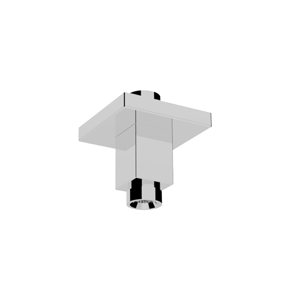 HD Image Ceiling mounted shower arm SQUARE L=40mm – 25X25