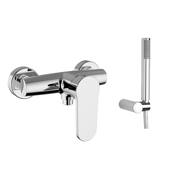 HD Image SILHOUETTE shower mixer with shower set