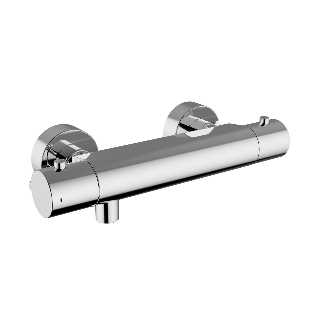 HD Image External Thermostatic Shower Mixer DALI HANDLE