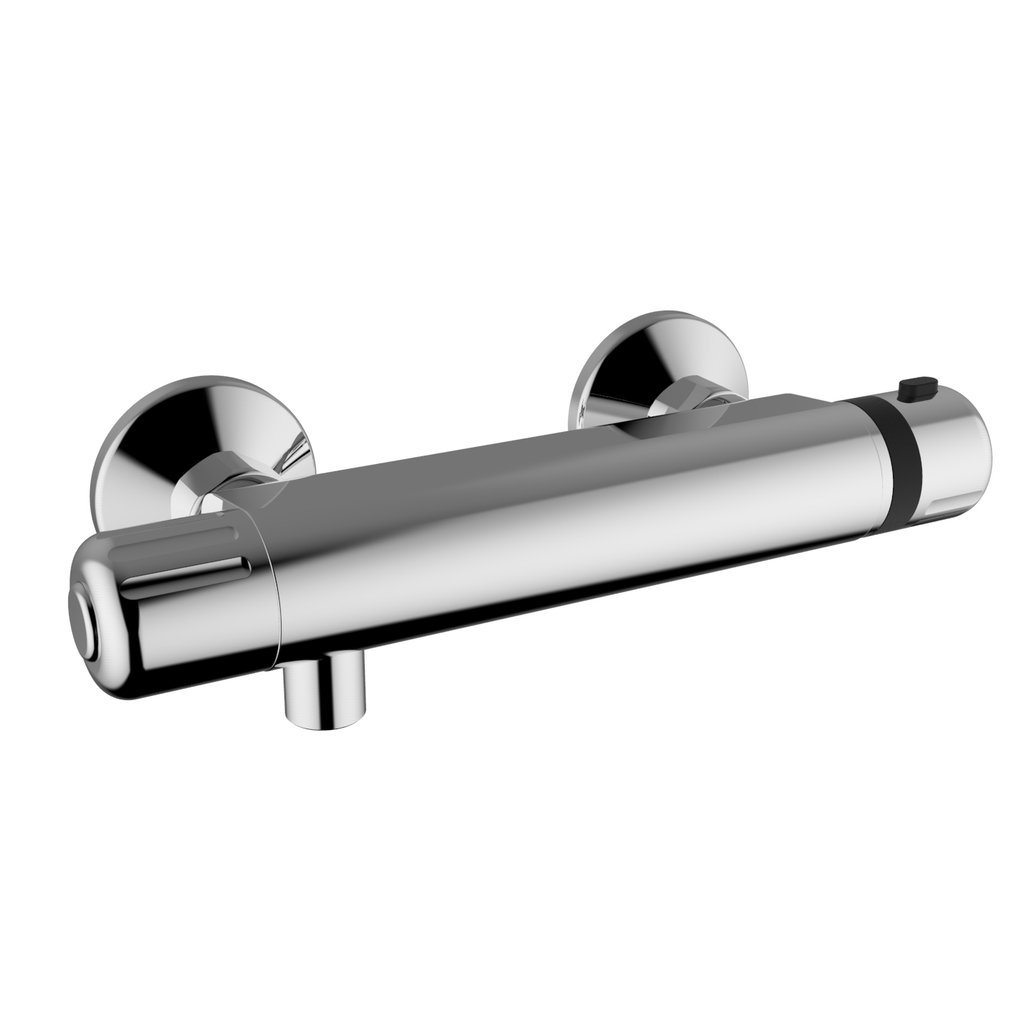 HD Image External Thermostatic Shower Mixer MIKROS