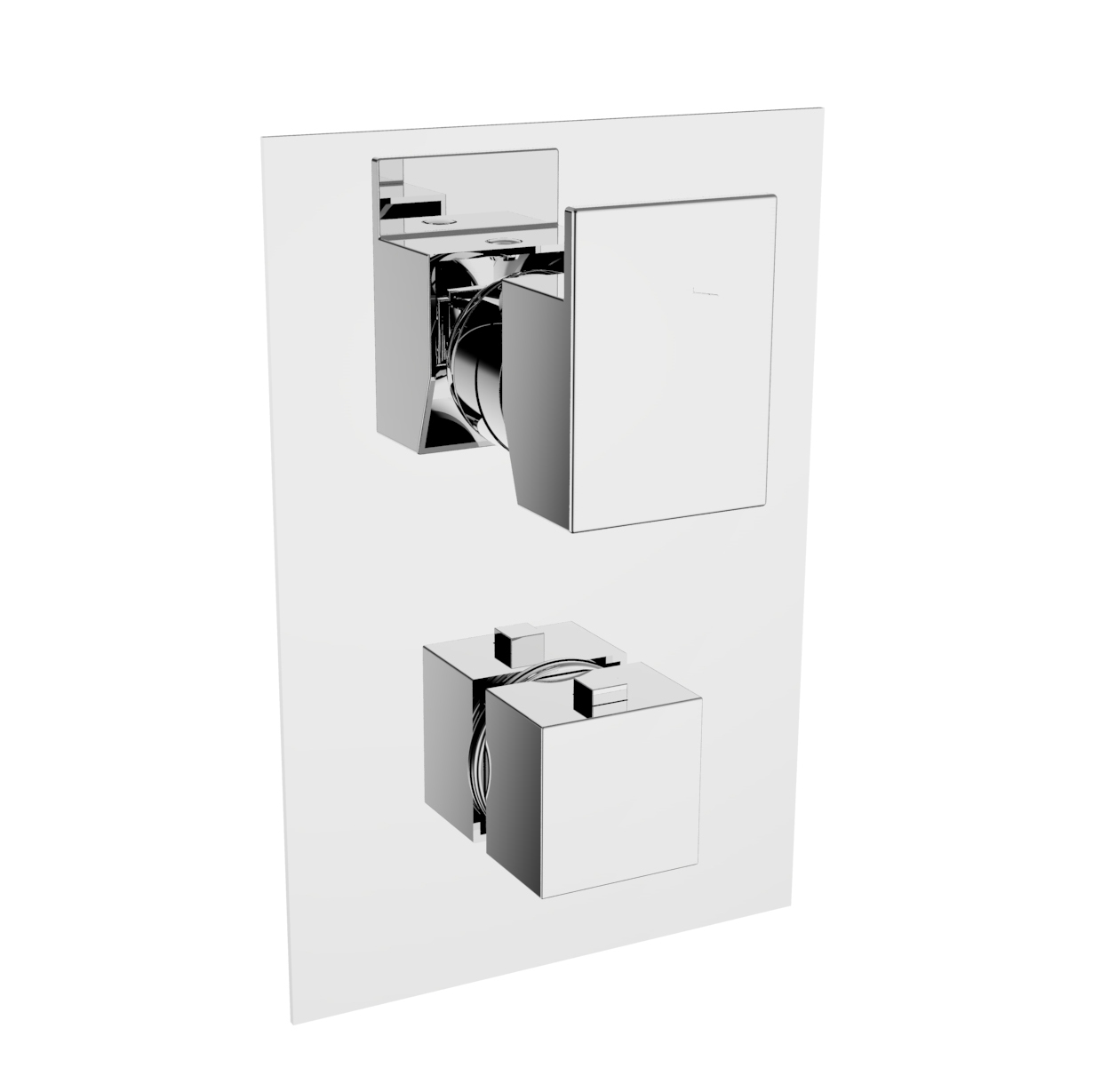 HD Image Concealed thermostatic mixer from 1 to 5 ways