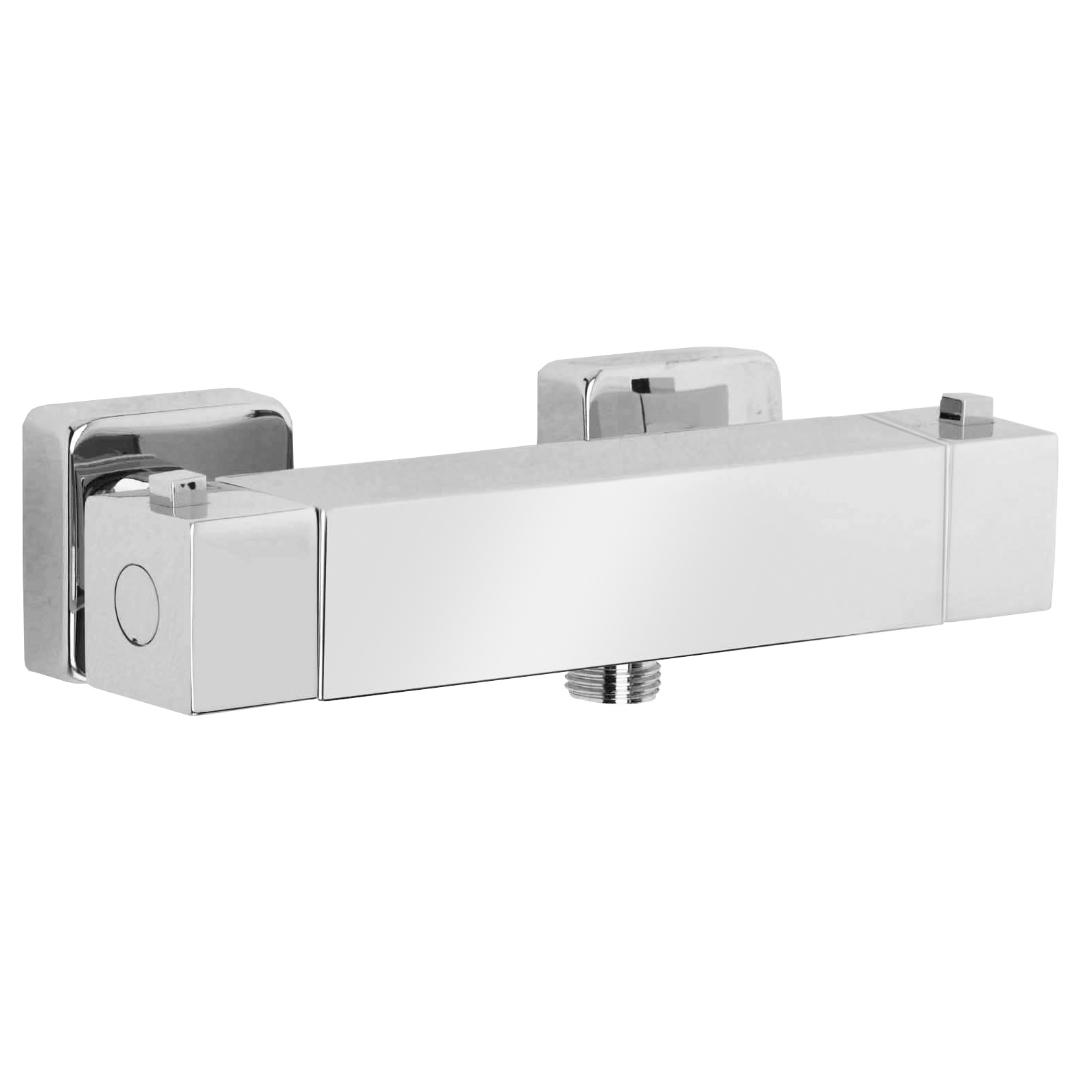 HD Image External Thermostatic Shower Mixer SQUARE